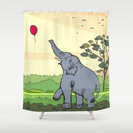 Lucas | Elephant Shower Curtain