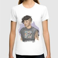 coconutwishes T-shirts featuring Zayn  by Coconut Wishes