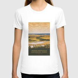 Wood Buffalo National Park T-shirt