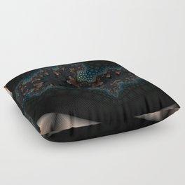 Splitting cells fractal art Floor Pillow