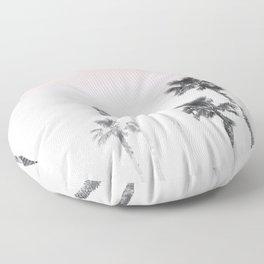 Tranquillity - pink sky Floor Pillow