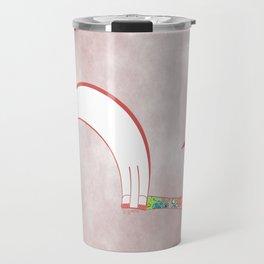 Moon Love Cat Illustration Travel Mug