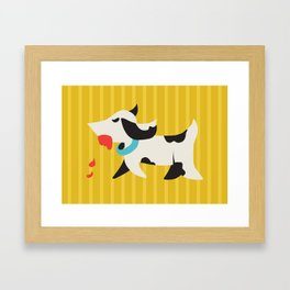 Zombie Dog Harriet Framed Art Print