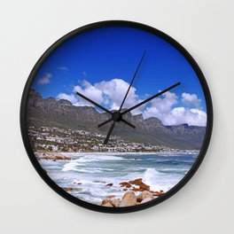 Cape Town, Camps Bay Wall Clock