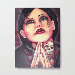 save me  Metal Print
