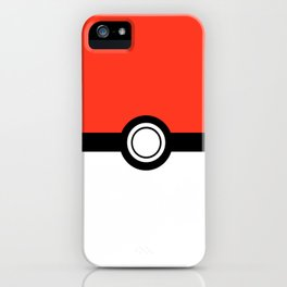 Poké Ball. iPhone Case