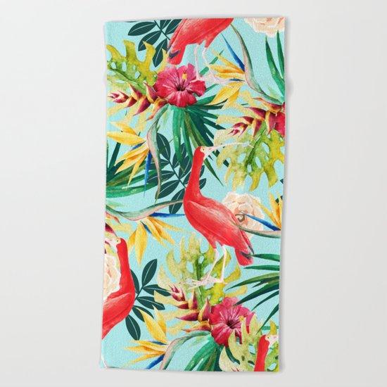 Hawaiian Beach Blanket: Hawaiian Vibe #society6 #decor #buyart Beach Towel By 83