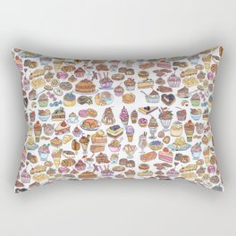 Dessert love #1 Rectangular Pillow