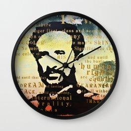 Haile Selassie War Wall Clock