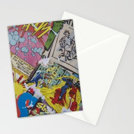 Comics Trip Stationery Cards