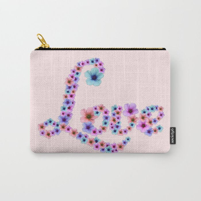 Blossom Love Carry-All Pouch
