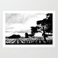 Fort Rosecrans National Cemetery Art Print