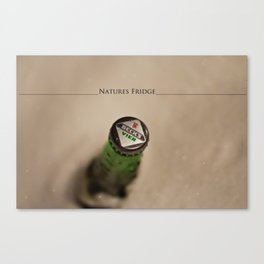 Natures Fridge Canvas Print