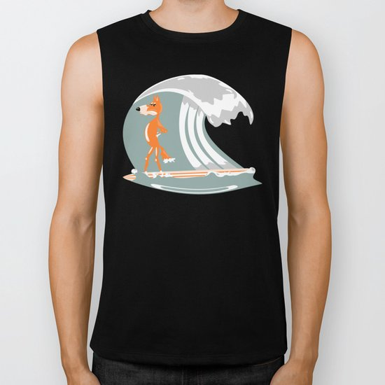 Fox Surfing Biker Tank