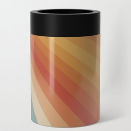 Retro 70s Sunrays Can Cooler