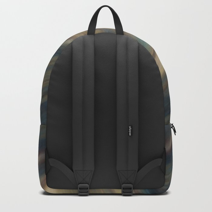 Abstract colorful background . Backpack