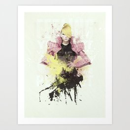2NE1 - CL Art Print