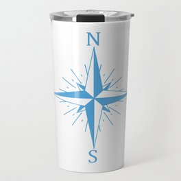 Wind compass Travel Mug