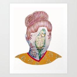 Self Portrait III Art Print