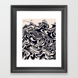 Okay Swim Framed Art Print