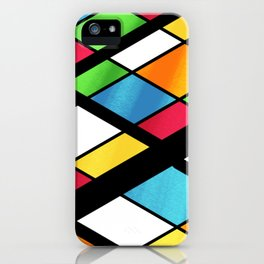 ISOMETRIC COLOR BOARD iPhone Case