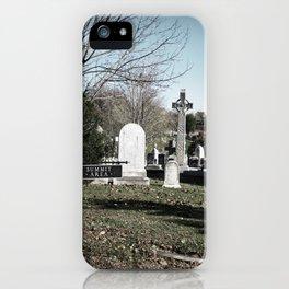 Cemetery#4 iPhone Case