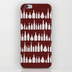 Bottles Red iPhone Skin