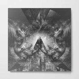 Rhino resistance Metal Print