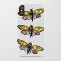 insect iPhone & iPod Cases featuring Insect by Freja Friborg