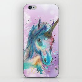 Magical Painted Unicorn iPhone Skin