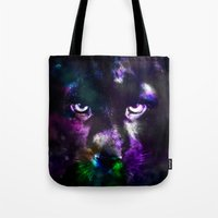 panther Tote Bags featuring Panther by haroulita