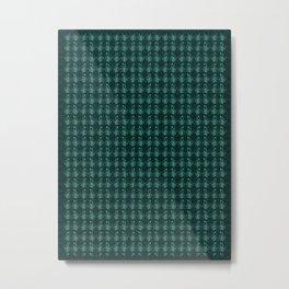 Fern Design II Metal Print