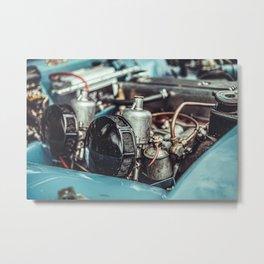 Triumph Engine Metal Print