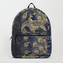 Pride and Prejudice by Jane Austen Vintage Peacock Book Cover Backpack