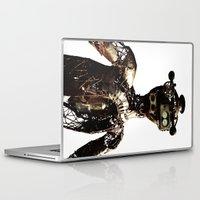 robot Laptop & iPad Skins featuring robot by Кaterina Кalinich