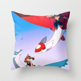 Eon Flute Throw Pillow