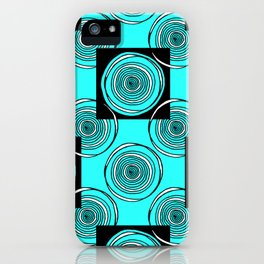 Turquoise Rings iPhone Case
