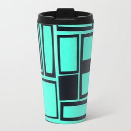 Windows & Frames - Teal Travel Mug