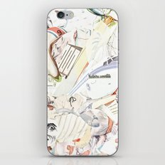 White iPhone & iPod Skin