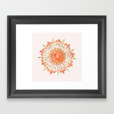 how strange it is to be anything at all Framed Art Print