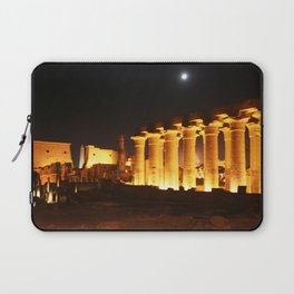 The night and the moon at Temple of Luxor, no. 29 Laptop Sleeve