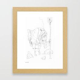 Zen Master 02 Framed Art Print