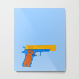 Coloful Toy Beretta Metal Print