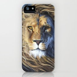 The Lion of the Tribe of Judah iPhone Case