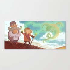 Zoo knows Magik Canvas Print
