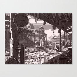 En Avance Canvas Print