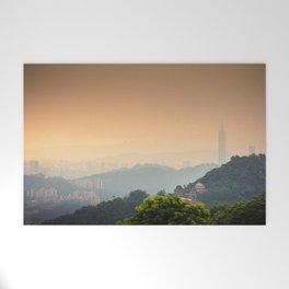 Chi Nan Temple in hills of Maokong, Taipei, Taiwan Welcome Mat