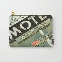 La Crescenta Vintage Motel Sign Carry-All Pouch