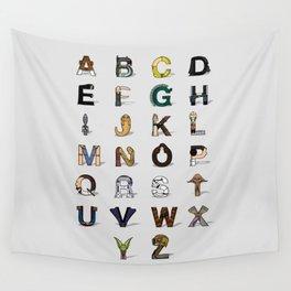 Star W. alphabet Wall Tapestry