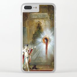 Gustave Moreau The Apparition Clear iPhone Case